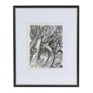 Hans Orlowski Woodcut artwork